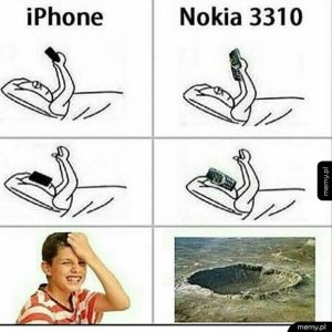 iPhone kontra Nokia