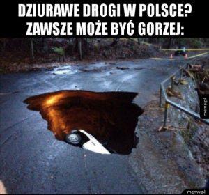 Dziurawe drogi