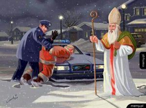 Prawdziwy Mikołaj!