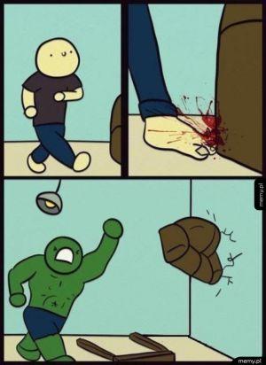 Kiedy się uderzysz