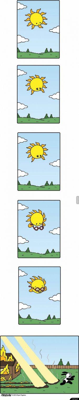 Ostatnie nastroje słońca: