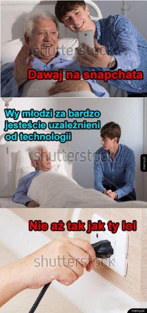 Uzależniony od technologii