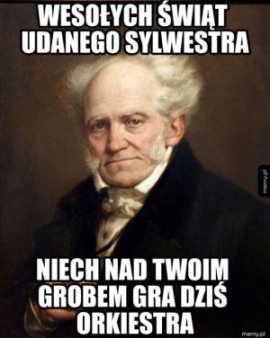 Arthur Schopenhauer świątecznie