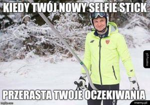 Wielofukncyjny Selfie stick