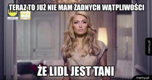 Paris Hilton reklamuje Lidla