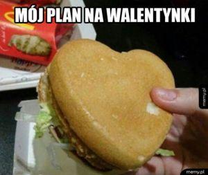 Walentynkowy plan