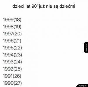 Dzieci lat 90