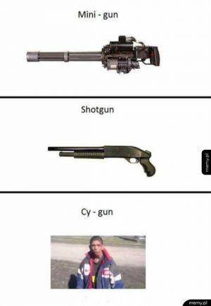 Typy broni
