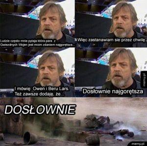 Najgorętsza para z Gwiezdnych Wojen