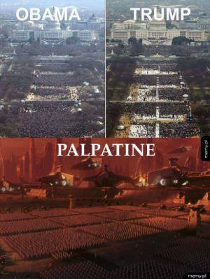 Palpatine wygrał