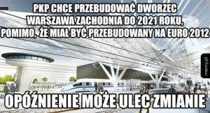Modernizacja dworca Warszawa Zachodnia
