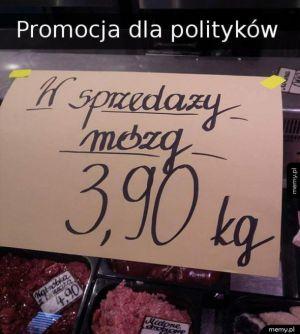 Promocja dla polityków