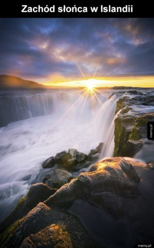 Islandia jest piękna