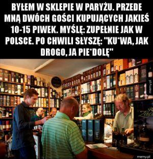 Zupełnie jak w Polsce