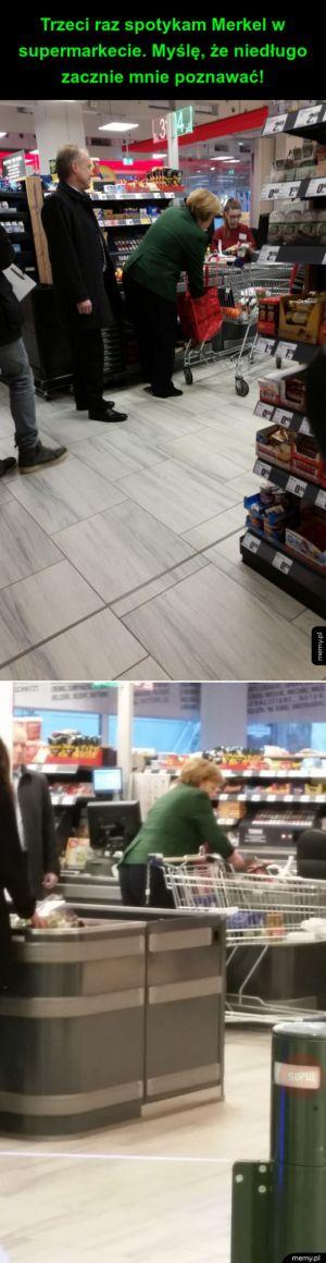 Spotkanie w supermarkecie