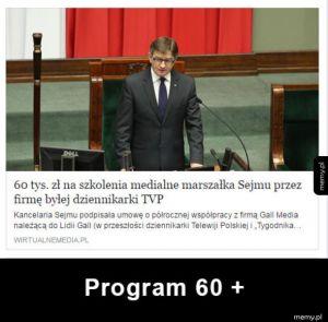 Program 60 +