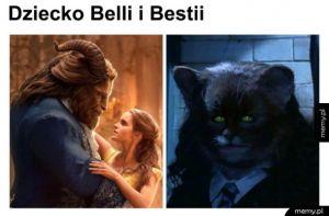 Tak było - Dziecko Belli i Bestii Piękna i bestia
