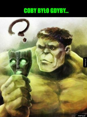 Hulk i maska