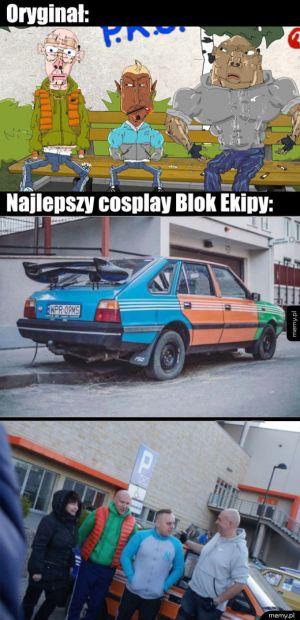 Cosplay Blok Ekipy