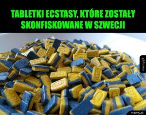 Tabletki ecstasy