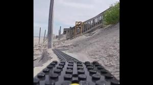 Roller coaster Lego