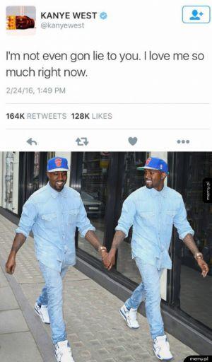 Kanye kocha Kanye