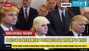 Polski rząd szykuje się do spotkania z Donaldem Trumpem