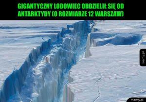 Gigantyczny lodowiec