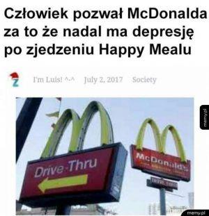 Depresja po McDonaldzie