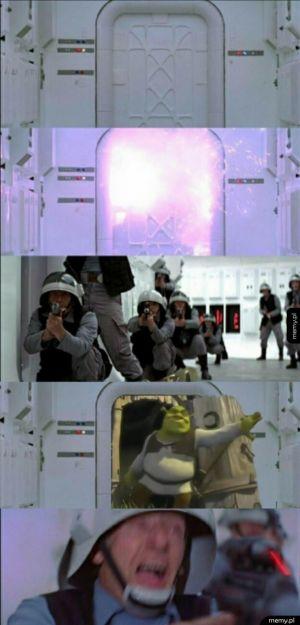 Scena z Gwiezdnych wojen