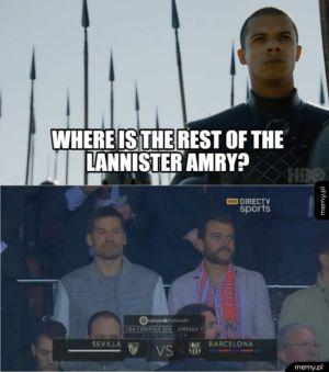 Gdzie się podziała Armia lannisterów ?