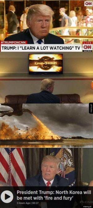Trump wie co robi