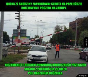 Janusz parkowania