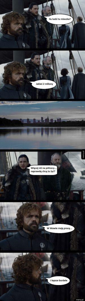 Jon Snow i Tyrion o stolicy