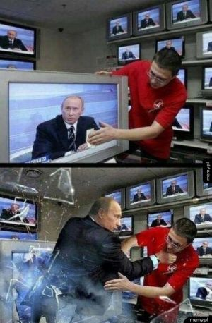 Lepiej nie dotykać Putina
