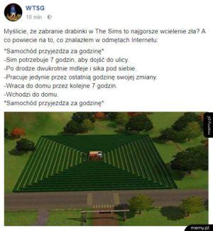 Prawdziwe wcielenie zła w The Sims
