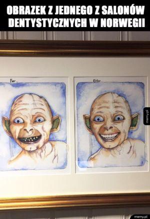 Chodziłbym do takiego dentysty