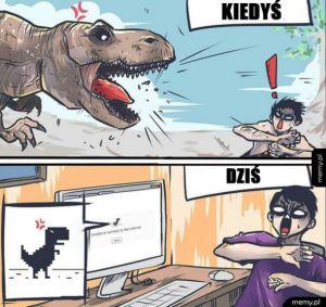 Od dziś boje się dinozaurów