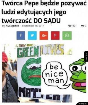 Pepe się wkurzył