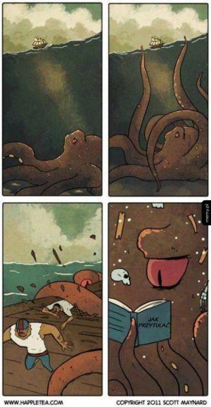 Kraken potrzebuje tylko miłości