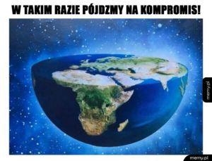 A gdyby ziemia tak wyglądała?