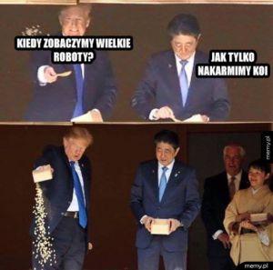 Trumpeł w japonii