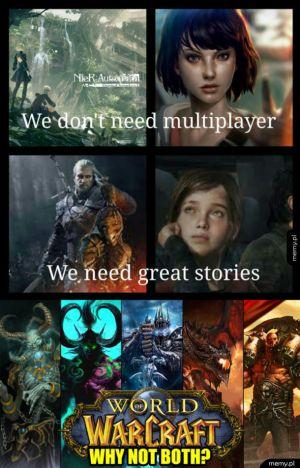 World of Warcraft - znajdziesz tu wszystko czego oczekujesz od gier
