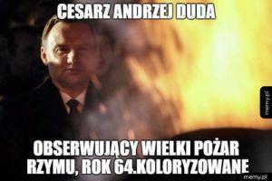 Cesarz Andrzej Duda
