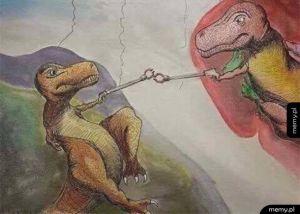Stworzenie T-rexa