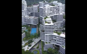 Kompleks budynków w Singapurze