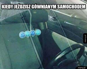 Gówniany samochód