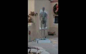 Znikająca rzeźba
