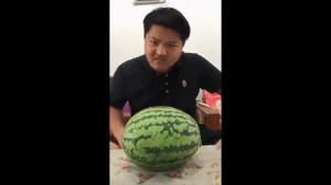Jak rozwalić arbuza