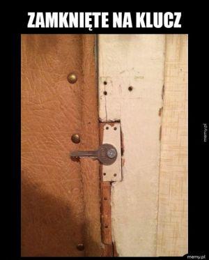 Zamknięte na klucz